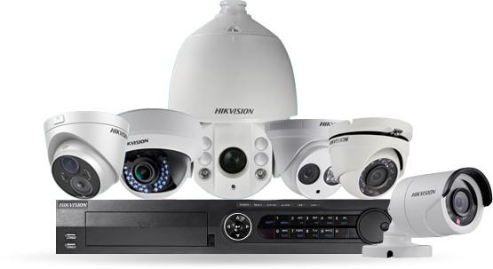 enregistreur caméras IP hikvision