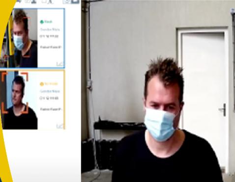 alerte détection masque